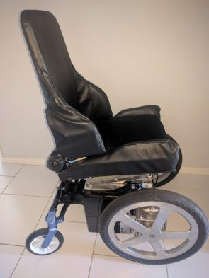 Next generation lighter and stronger powered wheelchair