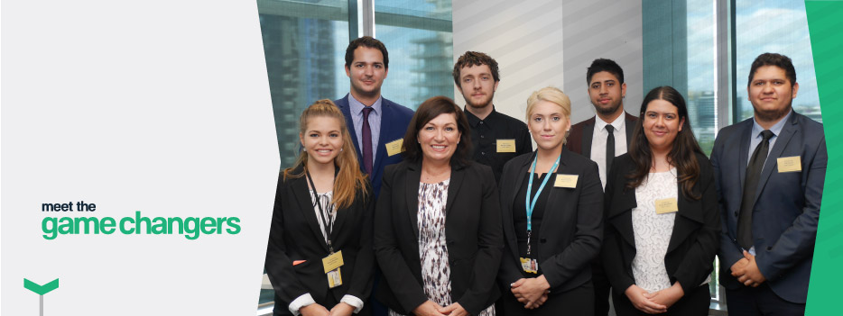 University students experienced real workplace activities through the paid internship program