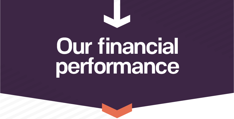 Our financial performance